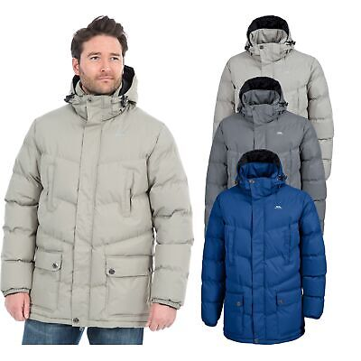 Trespass Cumulus Mens Padded Casual Jacket Warm Winter Coat with Hood