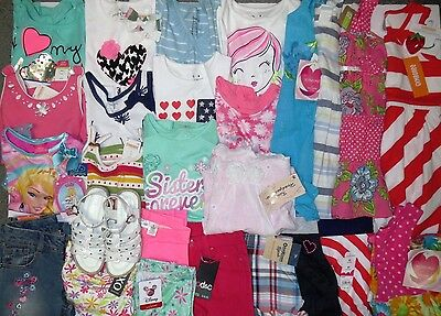 NWT Girls Spring Summer Clothes Lot 4 4T Gymboree Disney Youngland Sets Outfits