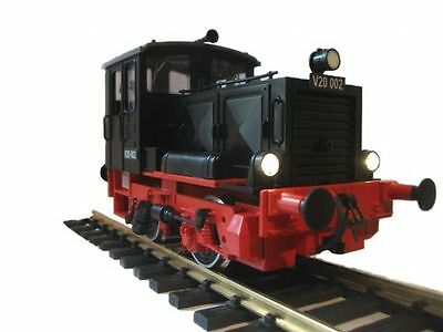 Zenner Conversion LGB Locomotive Köf G Scale to Gauge II 64mm,overhauled,black