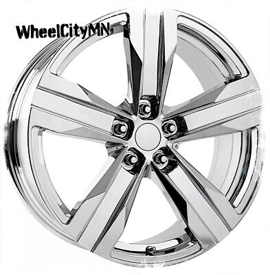 20 x9  & 20x8 inch chrome Chevrolet Camaro ZL1 OE replica wheels staggered 5x120