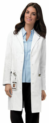 "Cherokee Women's Workwear Adjustable Long Sleeve Tabs 36"" Lab Coat. 2319"