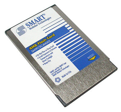 Flash Card Flashcard 4 Mb Smart Sm9Fcsc4M002 Cisco Flash Card