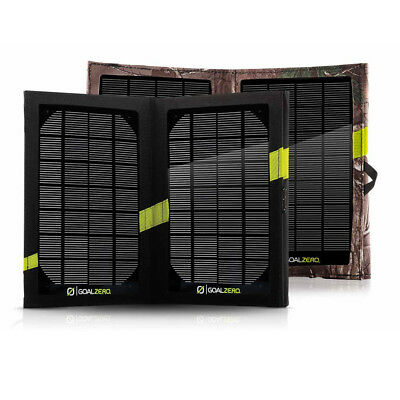 Goal Zero Nomad 7 Green Black Water Resistant Outdoors USB Port Solar Panel