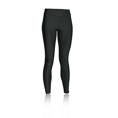 Under Armour Womens Grey HeatGear Long Compression Sports Leggings Pants