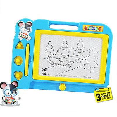 Magnetic Drawing Board Sketcher Pad Writing Painting Craft For Kids Children