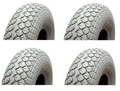 Mobility Scooter Tyres 400-5 (330x100) - Mobility Scooter Pneumatic Tyres x 4