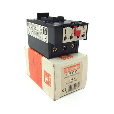 Overload Relay 11RF9533 Lovato 20-33A RF95-33