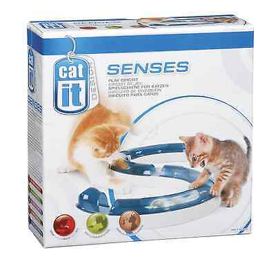 CatIt Senses Play Circuit Indoor Cat Kitten Toy Ball Activity Entertainment Game