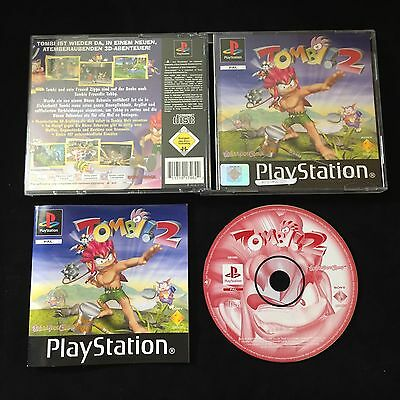 PS1 Tombi! 2 Tombi 2 OVP Sony Playstation #PS1#00355