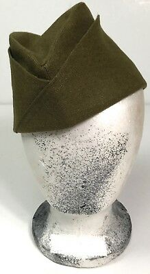 Wwi Us M1917 Infantry Overseas Cap- Size Small