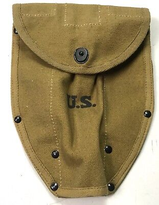 Wwii Us Army Infantry M43 M1943 Entrenching Shovel Tool Carrier Cover-Od#3