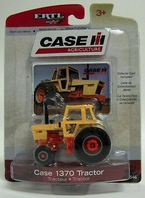 Case Ih 1370 Tractor With Desert Sunset Cab Diecast Scale 1/64 New