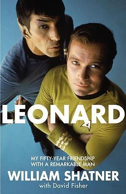 NEW Leonard By William Shatner Paperback Free Shipping