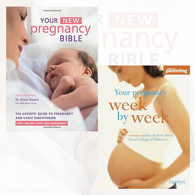 Pregnancy Collection 2 Books Set (Your New Pregnancy Bible) Brand New Pack