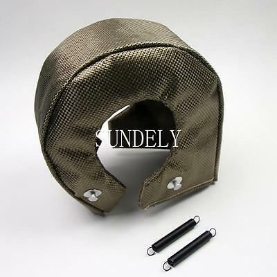 New! Titanium Turbo Blanket Heat Shield Cover For T4