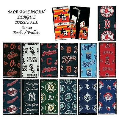Server Book - Wallet / MLB American League Baseball