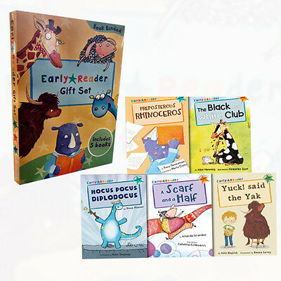 Early Readers Story Collection 5 Books Box Set Childrens Gift Read at Home NEW