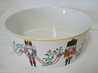Block Spal Whimsy Christmas Nutcracker Serving Bowl Portugal China