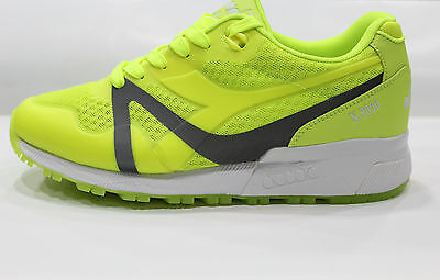 Scarpe Diadora Uomo N9000 MM BRIGHT Shoes Sneakers Basse Yellow Fluo