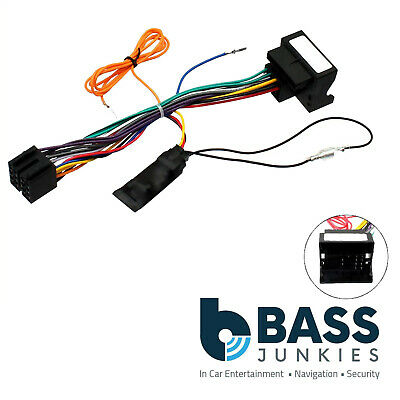 Citroen C3 Picasso 2009 On Car Stereo Quadlock Wiring Harness Ignition Adapter