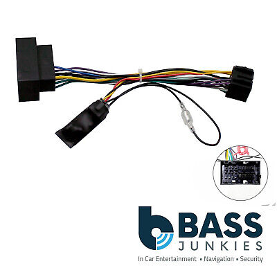 Fiat Ducato 2014 On Car Stereo Quadlock Wiring Harness Ignition Adapter Lead