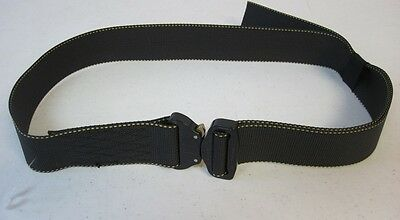 US Army Cobra Adjustable Rigger's Belt Color Black New without Tags