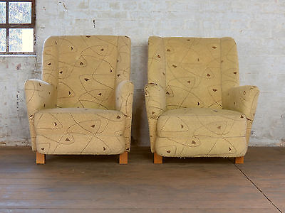 Mid Century Retro Cocktail Easy Chair Armchair Fauteuil Sessel Vintage 50s 60s • £105.00