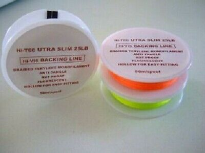 Backing line Premium Quality Ultra Slim 0.18mm 32lb Backing line 100m spool