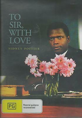 To Sir, With Love - Sidney Poitier New All Region Dvd