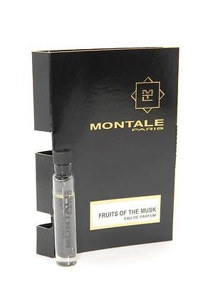 Montale Fruits Of The Musk EDP Vial Sample 2ml 0.07oz New With Card