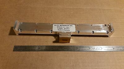Filtel Microwave DPX23G-13-1 Waveguide Diplexer WR-42 22700MHz 21500MHz K-Band