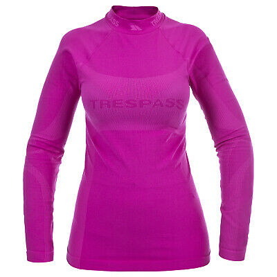 Trespass Endeavor Womens Base Layer Long Sleeve Ladies Winter Ski Top