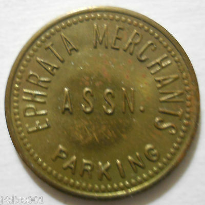 Ephrata Merchants Association (Pennsylvania) parking token - PA3358A