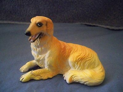 Miniature Dog Figure Borzoi/russischer Windhund New Ray 1St Ed W/dog Origin Tag