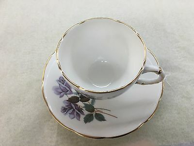 Delphine Teacup And Saucer Bone China Made  In England