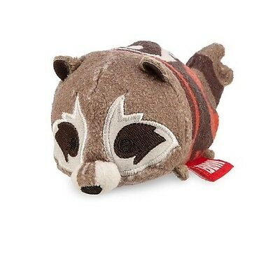 Disney Store Guardians Of The Galaxy Rocket Tsum Tsum Plush 31/2 New With Tag