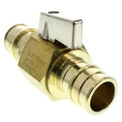 Uponor Wirsbo LF4817575 ProPEX LF Brass Ball Valve (Large Bore)  Package of 10