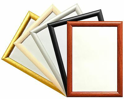 New Classic Style Dome Profile Frames Wood Finish Photo Picture Poster Frame