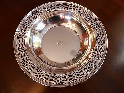 Antique Tiffany And Co Sterling Silver Large Heavy  Centerpiece Bowl John Moore