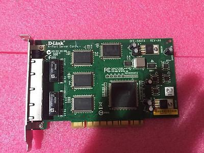D-Link 4-Port Server Fast Ethernet Card DFE-580TX REV-A4