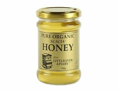 Littleover Apiaries Organic Acacia Honey 340g