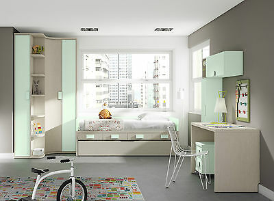 komplett kinderzimmer play eckschrank kojenbett. Black Bedroom Furniture Sets. Home Design Ideas