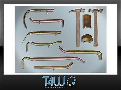 T4W Tinman's set on the board spoons hammers dollies / big