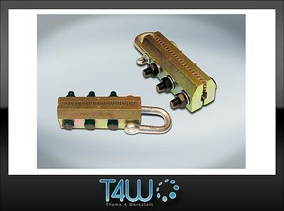 T4W Car body pulling clamp hitch for stringers tresholds