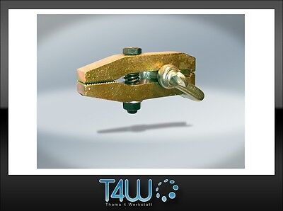 T4W Car body pulling front clamp hitch / crocodile