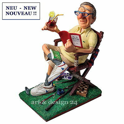 "GUILLERMO FORCHINO Professionals ""THE RETIREE"" Comic Art Figur - FO85540 NEU !!"