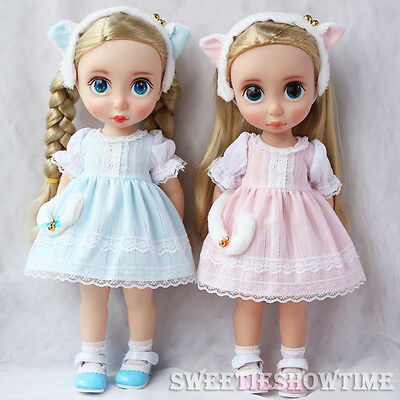 Disney Baby Doll Clothes Cute Kitty Dress Clothing Animator's collection NO DOLL