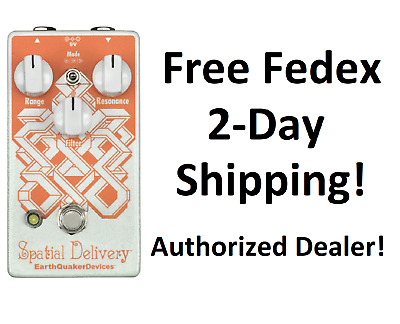 New EarthQuaker Devices Spatial Delivery Envelope Filter Guitar Effects Pedal!