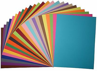 Quality 8.5 x 11 CARDSTOCK PAPER - Choose Color, how many sheets, corner style