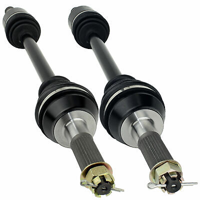 REAR RIGHT and LEFT COMPLETE CV JOINT AXLES Fits POLARIS RANGER CREW 700 2008 09
